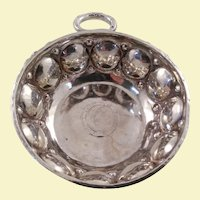 English sterling silver high quality wine taster