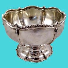 Large 800 silver bowl, German