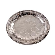 Elegant English sterling silver bowl