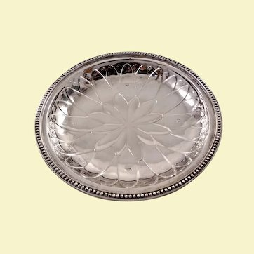Elegant English sterling silver bowl