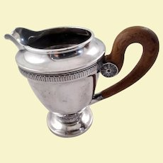 Beautiful 750 silver German creamer