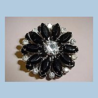 VINTAGE Black Pedal Daisy, Summer Great Show-OFF