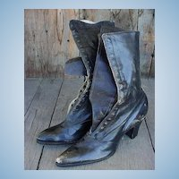 ANTIQUE High-Top Pointed Toe Shoes Size 5 1/2- 6 1/2