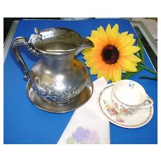 VICTORIAN Silver Small Tea Pot  Tea for Two