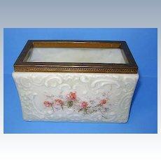 VINTAGE Antique Wave Crest Photo Receiver Box 167-X