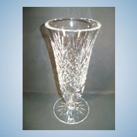 VINTAGE Waterford Vase  7 Inch 3 inch mouth and base