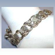 VINTAGE  Basic Sterling Bracelets for Charms