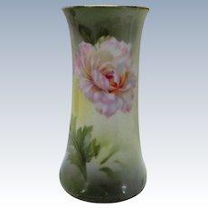 VINTAGE  R  S Germany Floral Hat Pin Holder