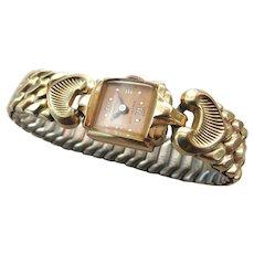VINTAGE 40'S Swiss Nastrix 17 Jewel Working Wrist Watch