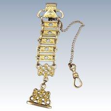VINTAGE Gold Filled Pocket Watch Holder