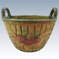 VINTAGE  Flemish Weller Pottery Co Zaneville Ohio 1910