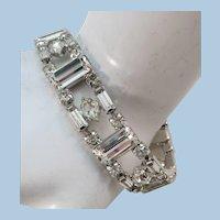 VINTAGE 60'S Bright Rhinestone Bracelet