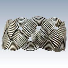 VINTAGE Prison Made Stainless Steel Bracelet