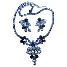 VINTAGE  DeLizza and Elster Juliana Necklace and Earrings