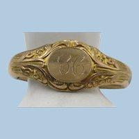 VINTAGE  Victorian Gold Filled Pretty Bracelet