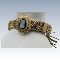 VINTAGE Gold Filled Slide Bracelet.  Charming
