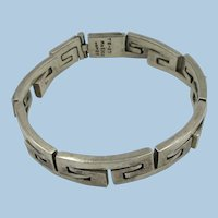 VINTAGE Mexican Silver 7 1/2 Sterling Weighs 48.25  Bracelet