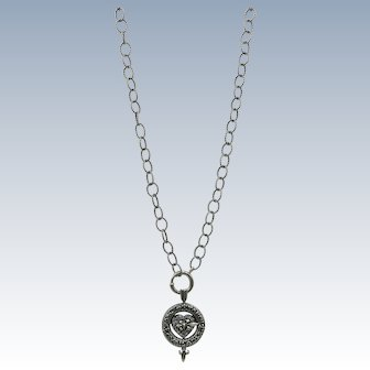 LOVELY  Choose your Mood Necklace  Marked 925 Sterling