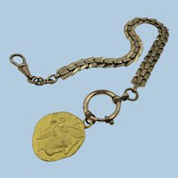 VINTAGE  Gold-Filled  11 Inch Watch Chain  Victorian