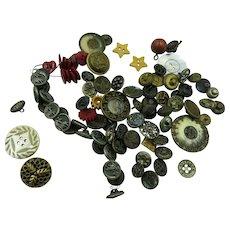 VINTAGE  Auction Bag of Buttons