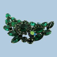"VINTAGE ""Luck of the Irish"" Green Green Brooch"