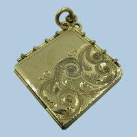 VINTAGE Gold-Filled  Locket Watch Fog