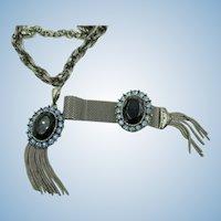 VINTAGE 60'S  Unsigned Necklace and Bracelet   Lovely