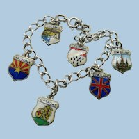 VINTAGE European Style Charm Bracelet  All Sterling