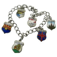 VINTAGE European Style Charm Bracelet  All Sterling