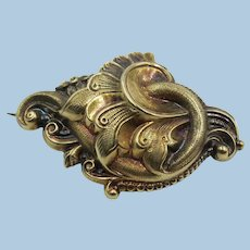 VINTAGE Gold-Filled Victorian Style Pin As Is