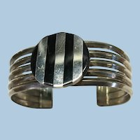 VINTAGE  Heavy Mexican Made Bracelet  60.64g