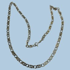 VINTAGE  Heavy Italian Made Special Chain 23 Inches  23.89g