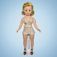 Madame Alexander Basic Blond Cissette Doll in Original Chemise 9 Inch 1958