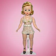 Madame Alexander Basic Blond Cissette Doll in Original Chemise 9 Inch 1958