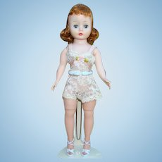 C1958 Cissette Doll Madame Alexander Red Hair in Chemise Beautiful