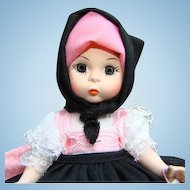 1980s Madame Alexander Yugoslavia International Doll 8 Inch HP SL MIB 589