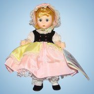 C1984 Madame Alexander Little Bo Peep Doll 483 Pristine in Box Straight Leg