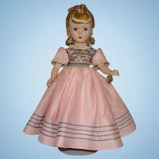 1952 Little Women Amy Doll 15 Inch Margaret Face Hard Plastic Madame Alexander