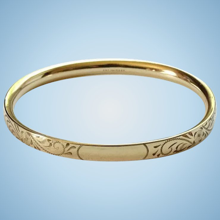 bracelet solid large oval bangles hinged product gold page bangle