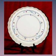 Mikasa Vintage Quiche Dish...Annette Intaglio