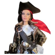 """Stunning Contemporary Barbie  """"The Pirate"""" - So Cool from 2007 NRFB"""