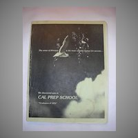 Michael JACKSON Authentic 1976 Cal Prep YEARBOOK Authentic