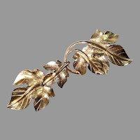 TRIFARI Dangling PIN Kunio Matsumoto Gold-tone