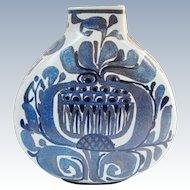 Royal Copenhagen Modernist Vase Kari Christensen Tenera Faience Pillow Vase 427/3114
