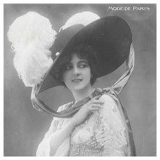 RPPC Paris Fashion 1911
