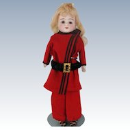Bisque Head Doll Kid Leather Body 154 Dep 2 Kestner