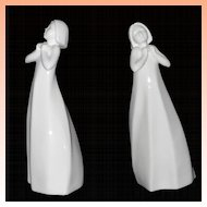 Royal Doulton Thankful  Images Series  Figurine in White  HN3129