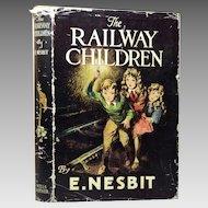 The Railway Children by E. Nesbit With Dust Jacket, British Edition, 1951