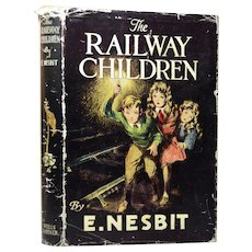 The Railway Children by E. Nesbit With Dust Jacket, British Edition, 1951