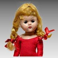 Vogue Doll Ginny Bent Knee Walker Circa 1957